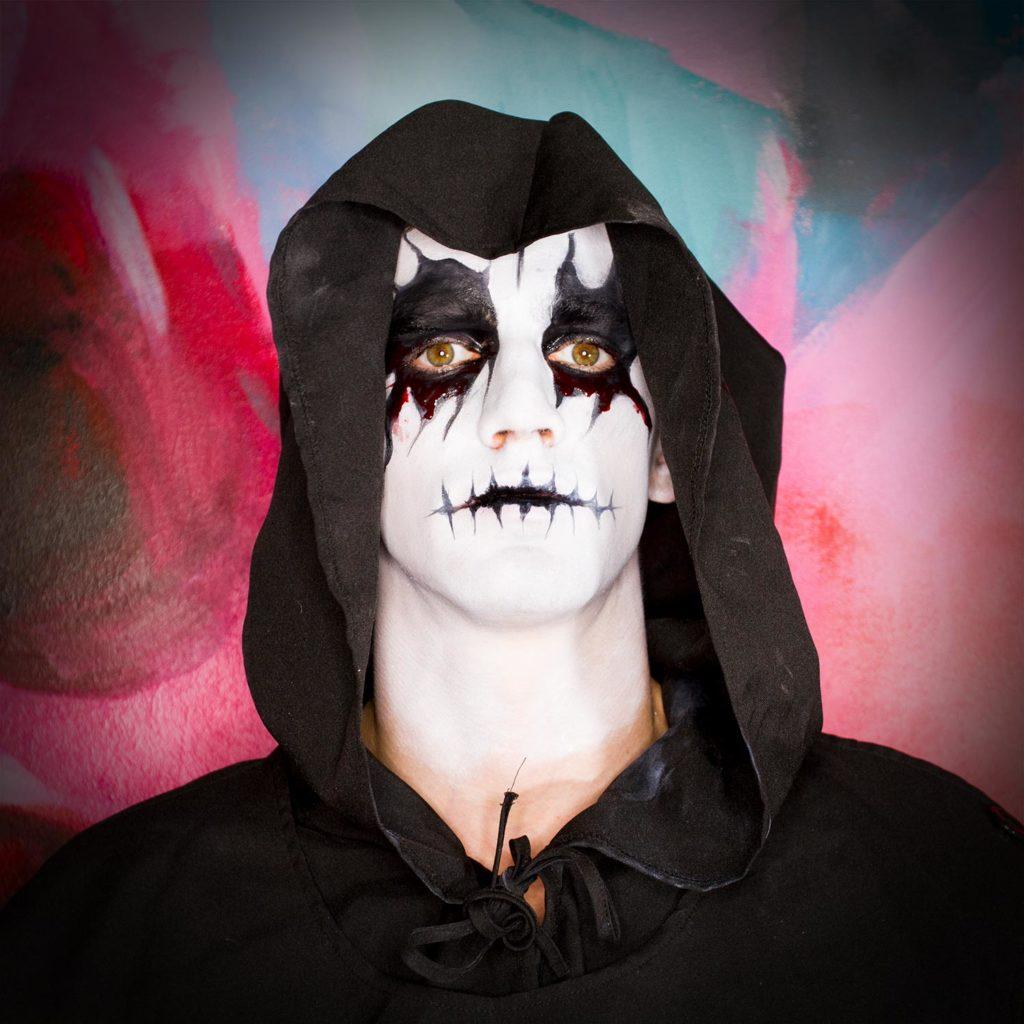 Schauriger Mönch Make-Up